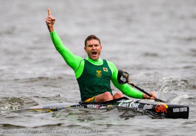 McGregor Birkett double rights Team SA ship at Canoe Marathon Worlds