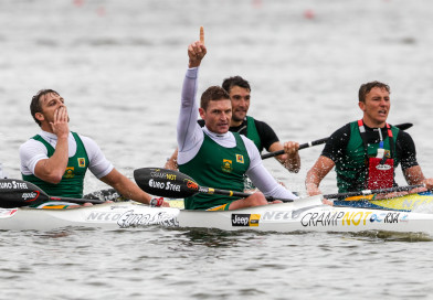 Golden double for McGregor at Canoe Marathon Worlds